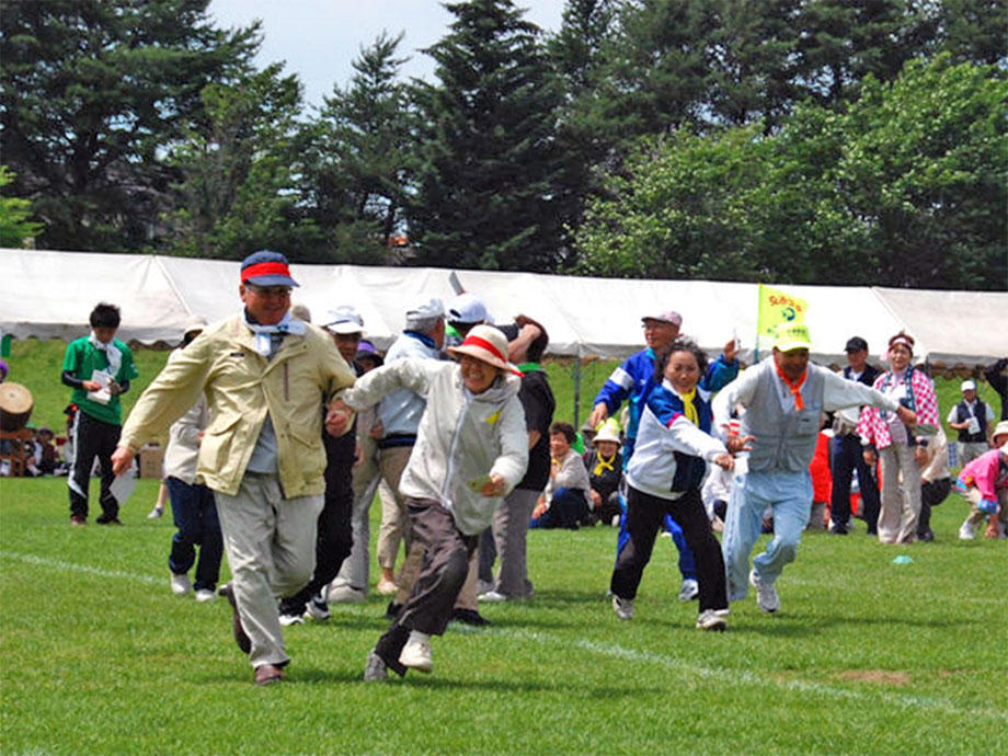 老人福祉スポーツ大会の様子(2)